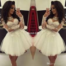 graduation dresses cheap white lace gown homecoming dresses simple