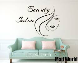 compare prices american hair removal online shopping buy low mad world beauty salon hair fashion girl woman wall art stickers decal home diy
