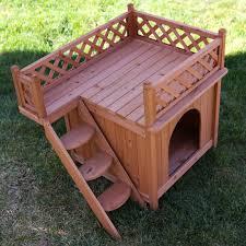 Cedar Dog Bed Room With A View Dog House Walmart Com