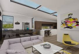 Kitchen Living Room Design Minosa The Modernliving Room Centred Around The Kitchen