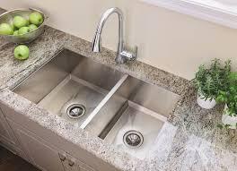 kitchen sinks stainless steel undermount double bowl interior