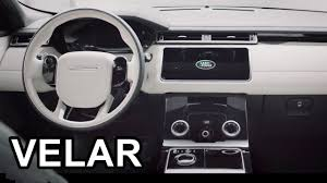 2018 land rover discovery black 2018 range rover velar interior youtube