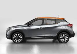 nissan kicks red nissan kicks debuts as global cuv to compete with honda hr v