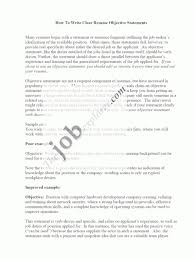 Best Resume Objective Statements The Best Resume Objective Statement Good Sample Resume Templates