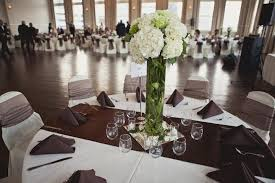18 wedding the room on main white hydrangea centerpiece