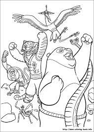 kung fu panda 2 coloring pages coloring book