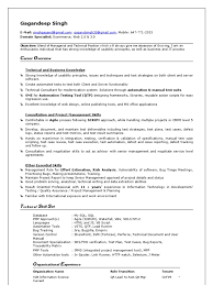Qtp 2 Years Experience Resume Qa Lead Docshare Tips