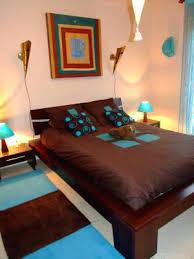 chambre marron et turquoise chambre adulte marron turquoise turquoise contemporary design
