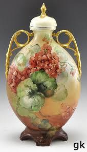 Porcelain Flower Vases 291 Best Limoges Images On Pinterest Hand Painted Painted