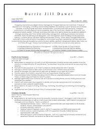 resume desktop support resume for your job application