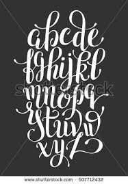 calligraphy alphabet stock images royalty free images u0026 vectors