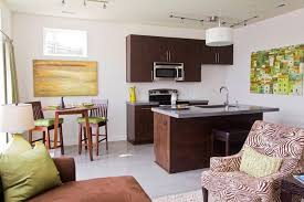 Open Kitchen Designs In Small Apartments  Best Small Open Plan - Open plan kitchen living room design ideas