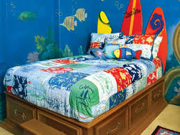 kids room bedroom wonderful ideas using red stripes wallpaper