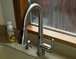 motionsense kitchen faucet moen motionsense kitchen faucet visionexchange co