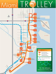 Map Of South Beach Miami by Public Transportation Flagler Street Project
