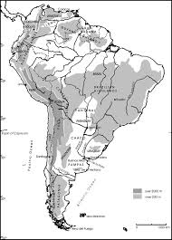 Patagonia South America Map Map Of South America Showing Regions Mentioned In The Text