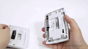 honeywell basic 1 week programmable thermostat rth221b youtube