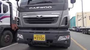 daewoo daewoo commercial vehicle youtube