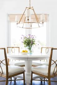 Table L Chandelier White Dining Table With Bamboo Dining Chairs Transitional