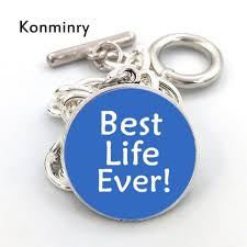best life bracelet images Buy konminry fashion silver chain jw org jpg