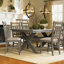 five piece dining room sets powell turino 5 piece rectangle dining room set in grey oak