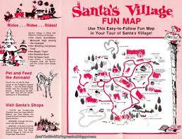 santa map meet the santa s part 1 entrance park map