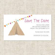 Save The Dates Magnets Tipi Love Save The Date Magnets From Tree Of Hearts