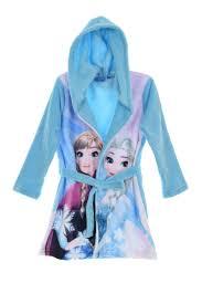 chambre de la reine des neiges robe de chambre elsa et avec capuche fille la reine des neiges