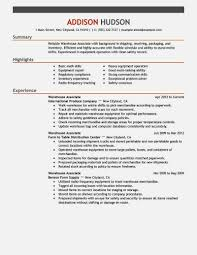Warehouse Job Resume by Warehouse Jobs Resume Templates Contegri Com