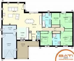 plan plain pied 5 chambres plan de maison 5 chambres dcoration plans de maison nanterre