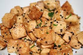 cuisiner tofu poele tofu poêlé fais péter la recette