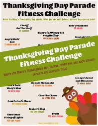 macy s thanksgiving day parade balloon fitness challenge 2017