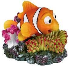 air clown fish aquarium ornament moving nemo fish tank
