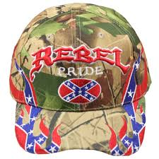 Confederate Flag Rear Window Decal Camo Rebel Confederate Flag Embroidered With Flames Hat