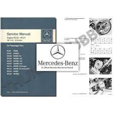 mercedes repair manuals mercedes m116 m117 v8 service workshop repair manual w108 w109