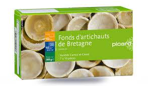 cuisiner les fonds d artichauts fonds d artichauts surgelés les légumes picard