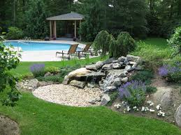 landscaping pool designs patios and waterfalls kito nursery blog