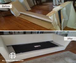 Disassemble Sofa Bed Gallery Before After Pictures All Furniture Services