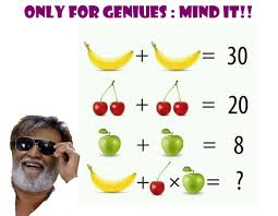 apple banana math puzzle with answer cool math puzzles games and