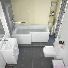 Bathroom L Fixtures L Shape Shower Bath Left Handed Buy At Bathroom City