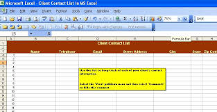 Microsoft Excel Business Templates Handyman Business Forms Templates