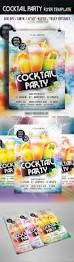 cocktail party flyer template by arrow3000 graphicriver
