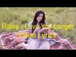download mp3 raisa usai disini raisa love you longer lyric video youtube