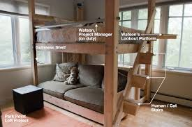 Woodworking What Kind Of Joints Are Best Used For A Loft Bed - Half bunk bed