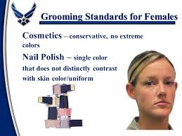 air force female hair standards dress and appearance ppt video online download