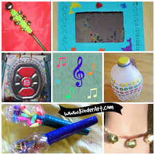 easy to make musical instruments for kids kinderart k12 for