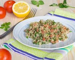 comment cuisiner le quinoa recettes recette taboulé de quinoa facile rapide
