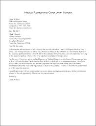 receptionist cover letter resume of an executive fabulous receptionist cover