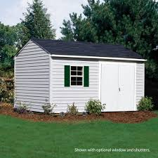 maintenance free sheds with vinyl siding sentry