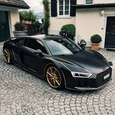 Audi R8 Gold - audi daily on twitter